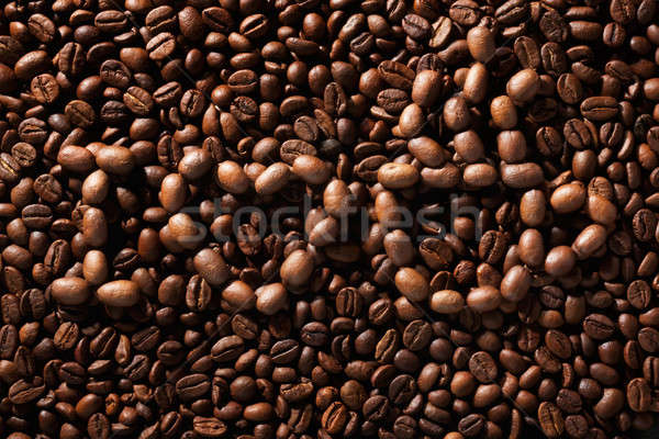 Amor café formas grãos de café comida natureza Foto stock © alekleks