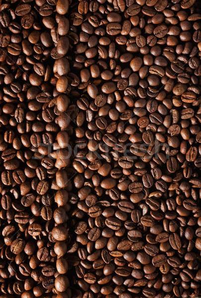 Préparation café menu grains de café ligne café Photo stock © alekleks