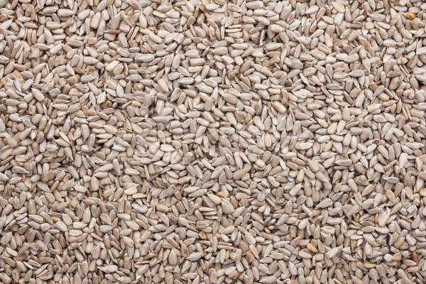 Dışarı soyulmuş ayçiçeği tohumları can kullanılmış Stok fotoğraf © alekleks
