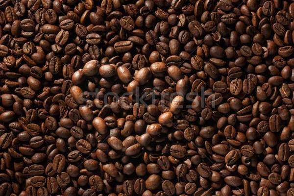 Szimbolikus szív kávé kávé szeretet ital Stock fotó © alekleks