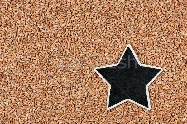 Estrela preço membro mentiras trigo espaço Foto stock © alekleks