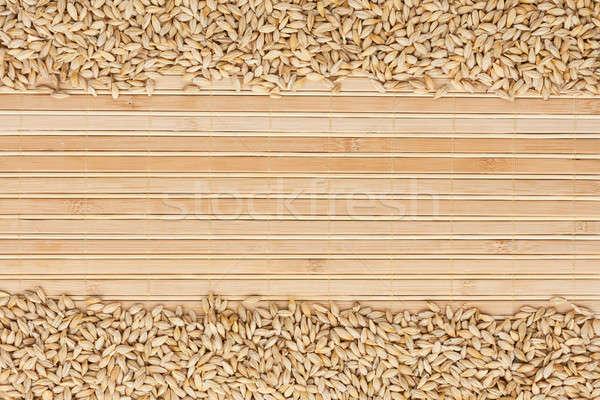 ячмень бамбук место текста продовольствие фон Сток-фото © alekleks