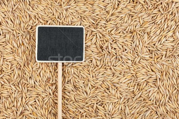 価格 タグ 嘘 燕麦 スペース テクスチャ ストックフォト © alekleks