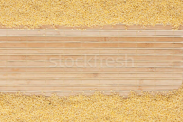 millet on a bamboo mat  Stock photo © alekleks