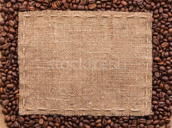Stock fotó: Klasszikus · keret · kávé · űr · étel · háttér