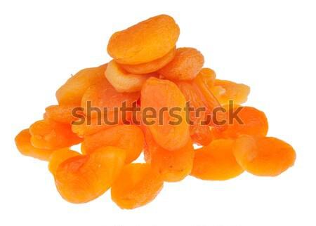 Pile of dried apricots Stock photo © alekleks