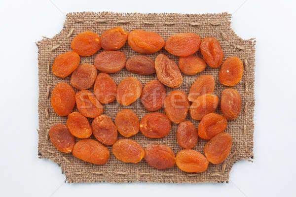Quadro pano de saco secas comida natureza energia Foto stock © alekleks