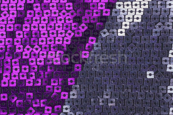 Abstract background from a fabric with sequins Stock photo © alekleks