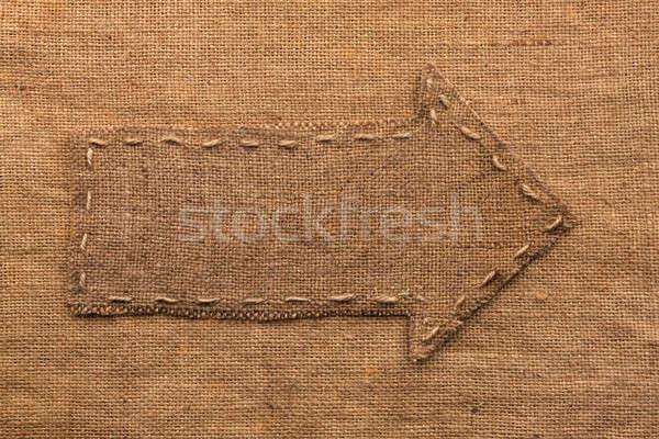 矢印 黄麻布 嘘 中古 にログイン 暗い ストックフォト © alekleks