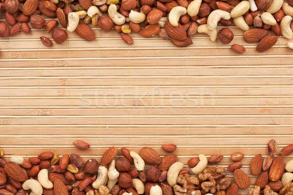 Mixture of nuts Stock photo © alekleks