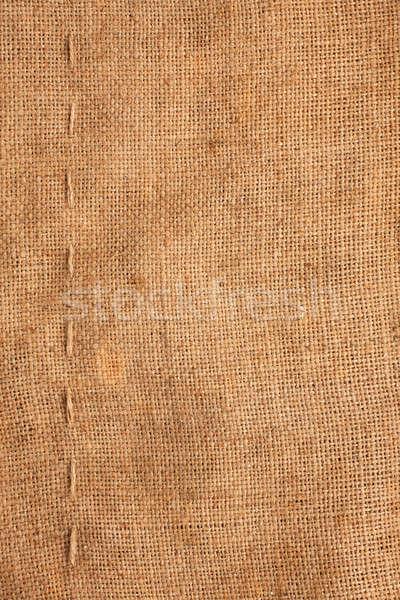 Linha pano de saco possível textura natureza espaço Foto stock © alekleks