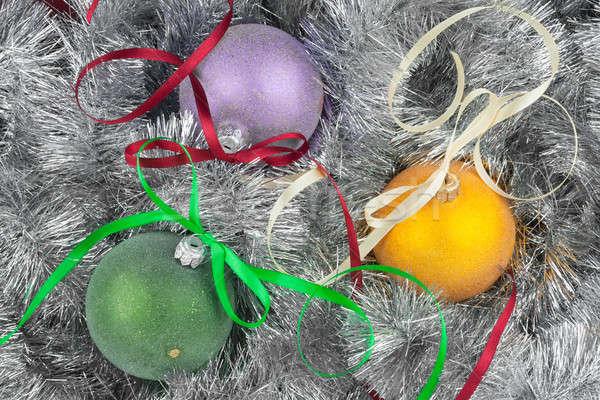 Рождества мяча украшение можете используемый фон Сток-фото © alekleks