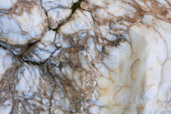 Granit doku can kullanılmış duvar soyut Stok fotoğraf © alekleks