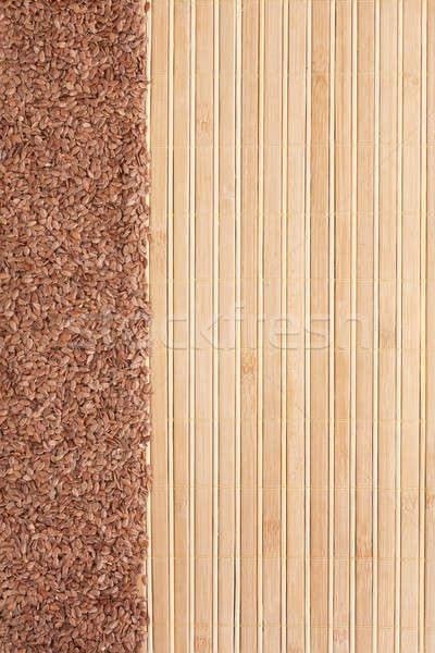 Mag bambusz űr szöveg menü textúra Stock fotó © alekleks