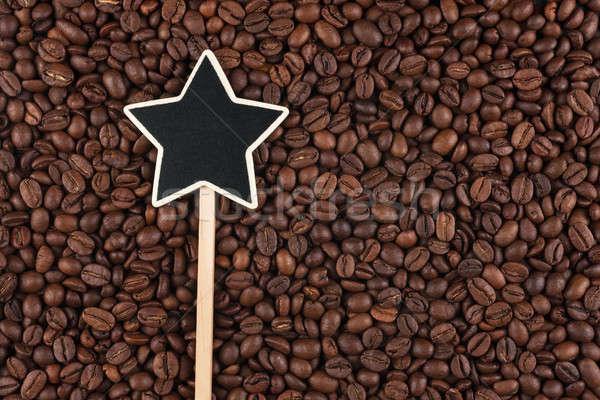にログイン 嘘 コーヒー豆 スペース 背景 星 ストックフォト © alekleks