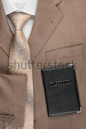 Jacket, tie and shirt, can be used as background Stock photo © alekleks