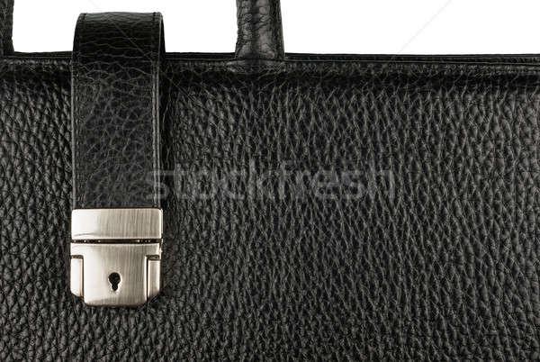 классический портфель блокировка обрабатывать мужчин Сток-фото © alekleks