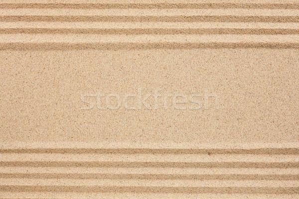 Straight lines in the sand  Stock photo © alekleks