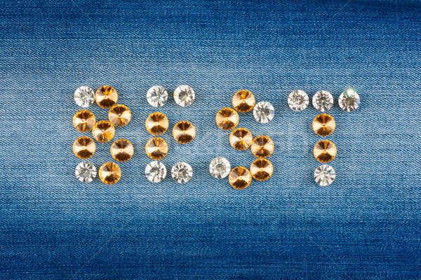 Felirat legjobb üzlet háttér felirat kék Stock fotó © alekleks