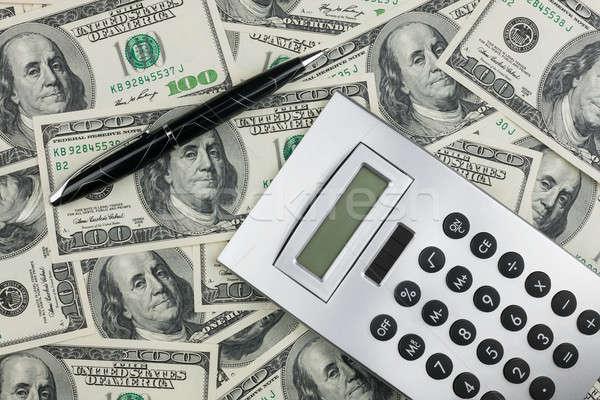 Dinheiro negócio fundo financiar banco Foto stock © alekleks