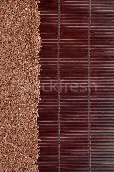 Mag sötét bambusz űr szöveg textúra Stock fotó © alekleks