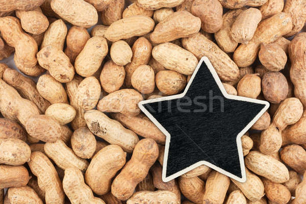 Star prix tag mensonges cacahuètes espace Photo stock © alekleks