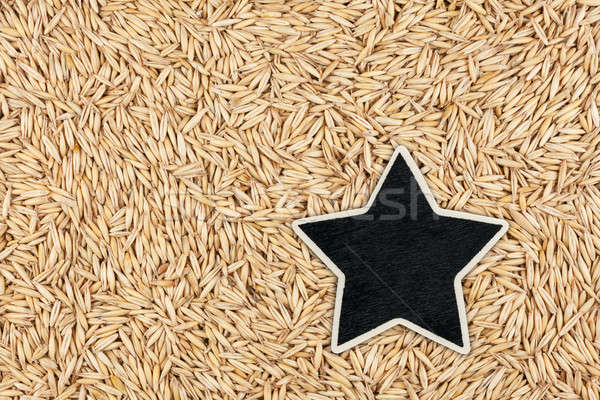 Star, pointer, price, tag, lies on  oat Stock photo © alekleks