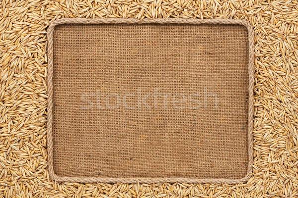 フレーム ロープ 穀類 場所 食品 エネルギー ストックフォト © alekleks