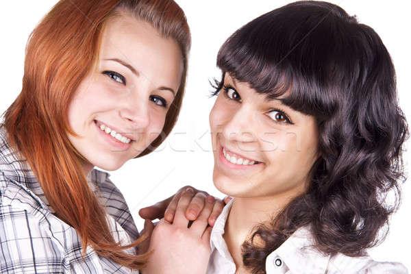 Two girl friends  Stock photo © alekleks