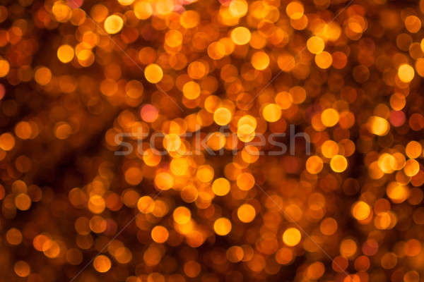 Boke of the yellow circles on a dark background Stock photo © alekleks
