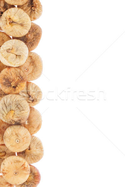 Gedroogd geïsoleerd witte natuur vruchten achtergrond Stockfoto © alekleks