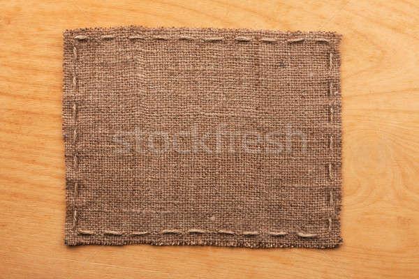 кадр брезент Ложь древесины место текстуры Сток-фото © alekleks