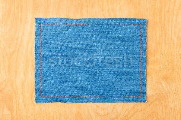 Stockfoto: Frame · tekst · weefsel · lijnen · oranje