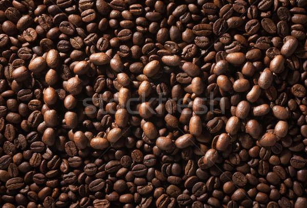Cento cento naturale caffè fotografia design Foto d'archivio © alekleks