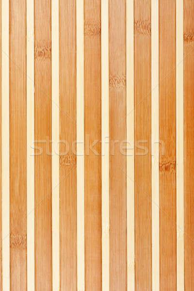 Bamboo mat background. Stock photo © alekleks
