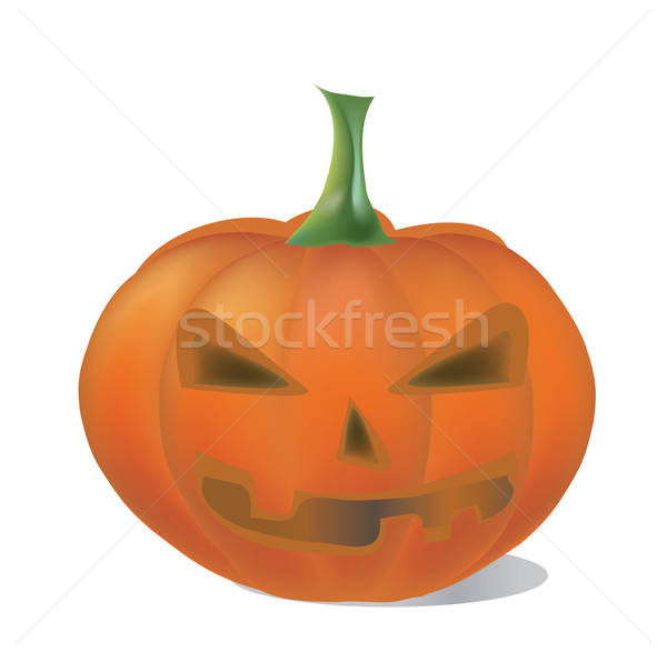 Halloween vakantie pompoen 3D plantaardige Stockfoto © Aleksa_D