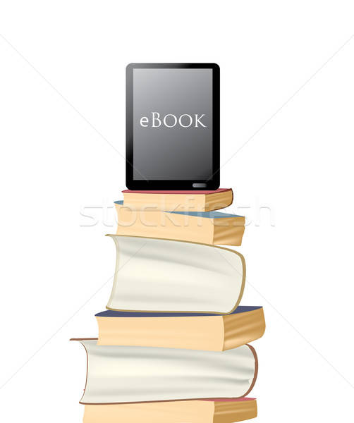 eBook Stock photo © Aleksa_D