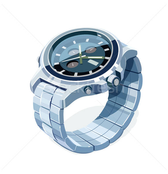 Wrist mechanical watch. Personal business accessory Stock photo © Aleksangel
