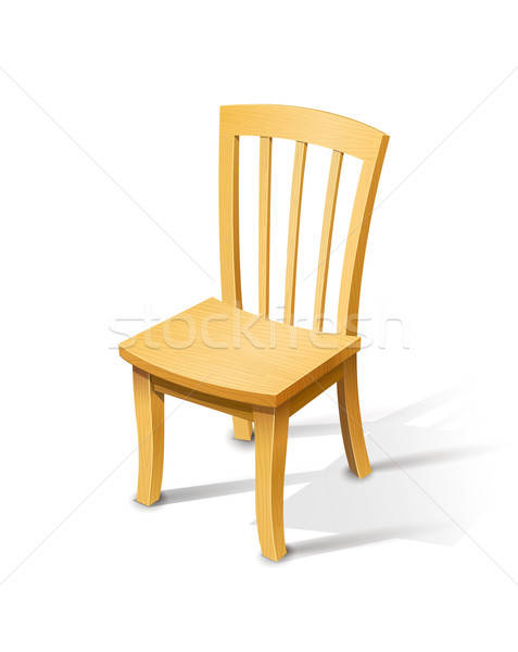 Wooden chair Stock photo © Aleksangel