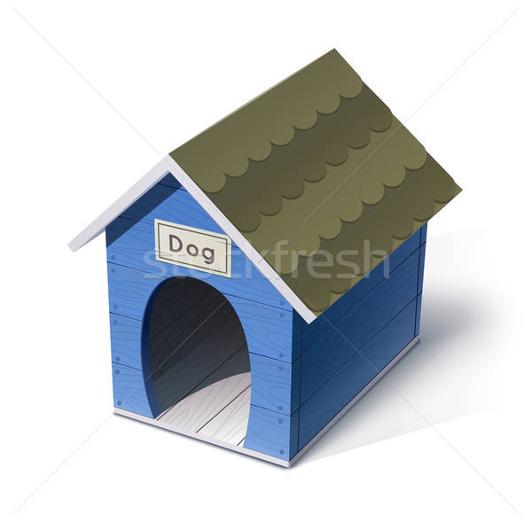 dog house Stock photo © Aleksangel