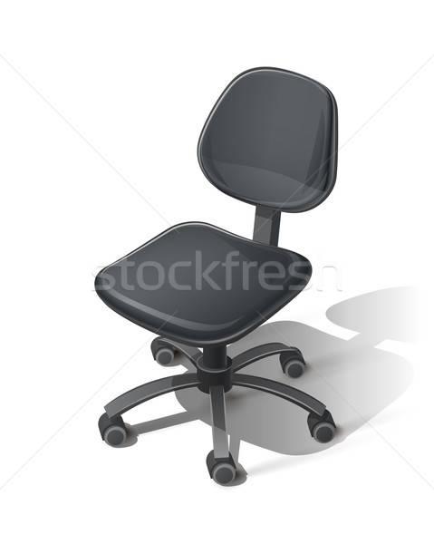 Black office chair Stock photo © Aleksangel