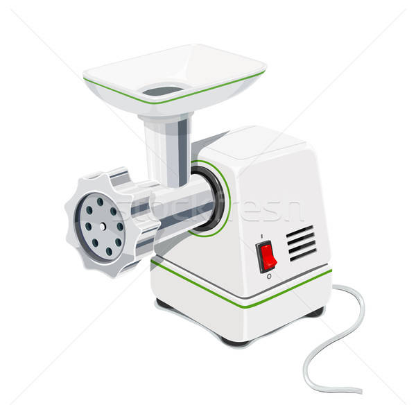 Electric Meat grinder. Kitchen equipment. Stock photo © Aleksangel