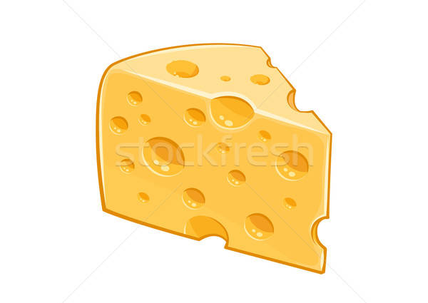 Piece of cheese. Stock photo © Aleksangel