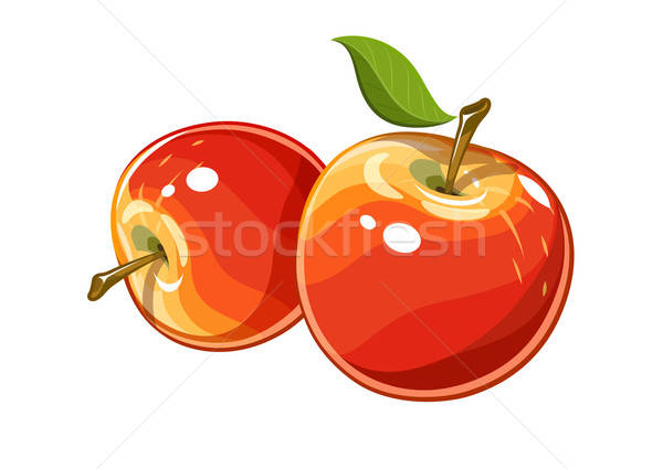 Ripe juicy apple.  Stock photo © Aleksangel
