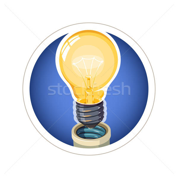 Light bulb Stock photo © Aleksangel