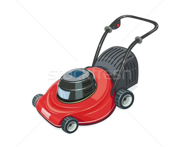Lawn mower. Garden tool. Stock photo © Aleksangel