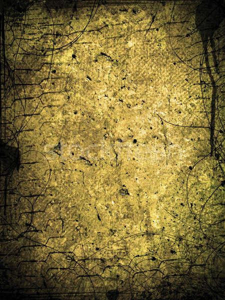 Grunge muur textuur abstract verf stedelijke Stockfoto © alekup