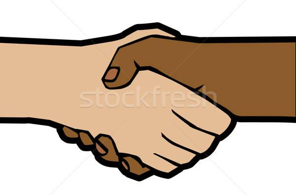 handshake Stock photo © alekup