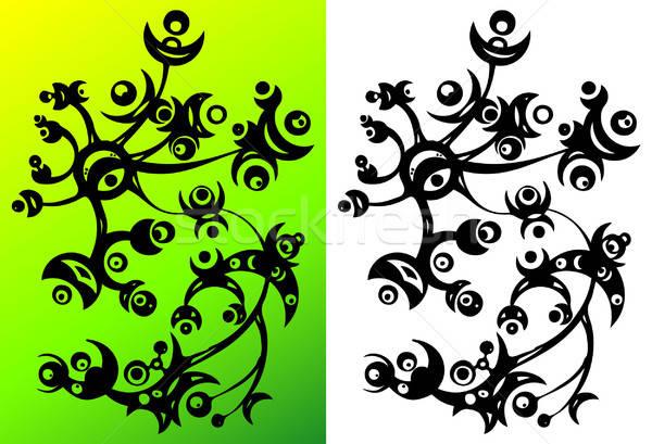 Abstract bloem ornament textuur natuur ontwerp Stockfoto © alekup