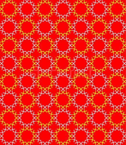 Muziek ontwerp Rood kleur behang Stockfoto © alekup